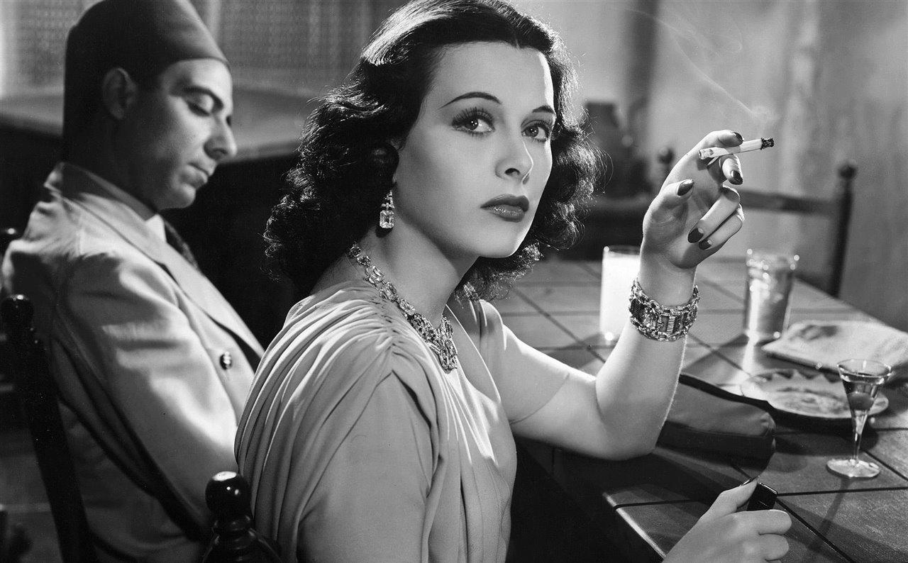 Hedy Lamarr actriz e ingeniera