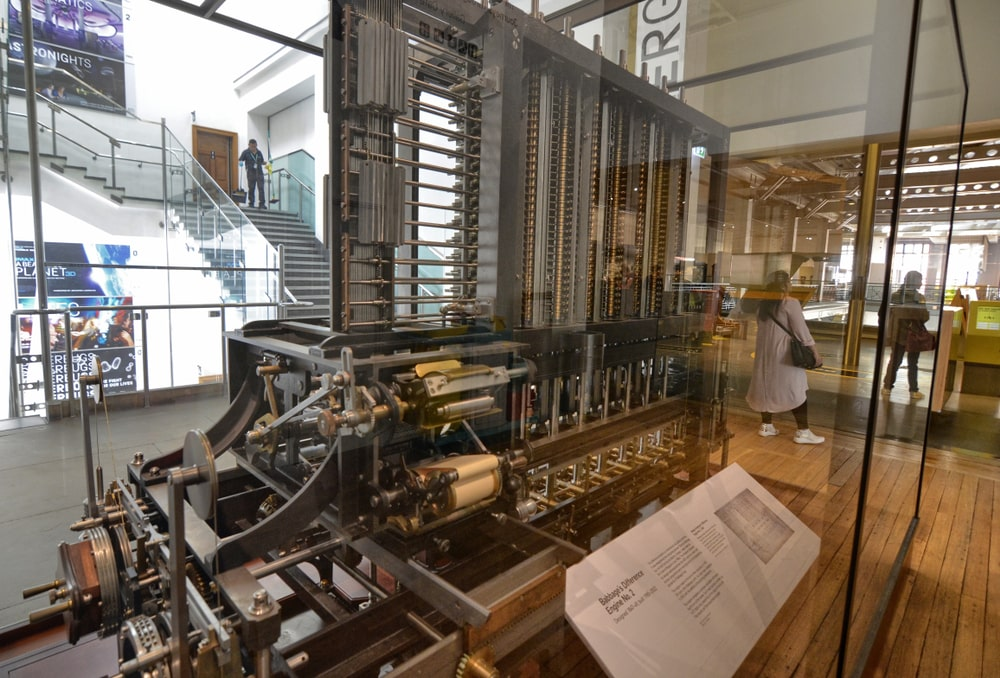 Maquina Analitica Babbage