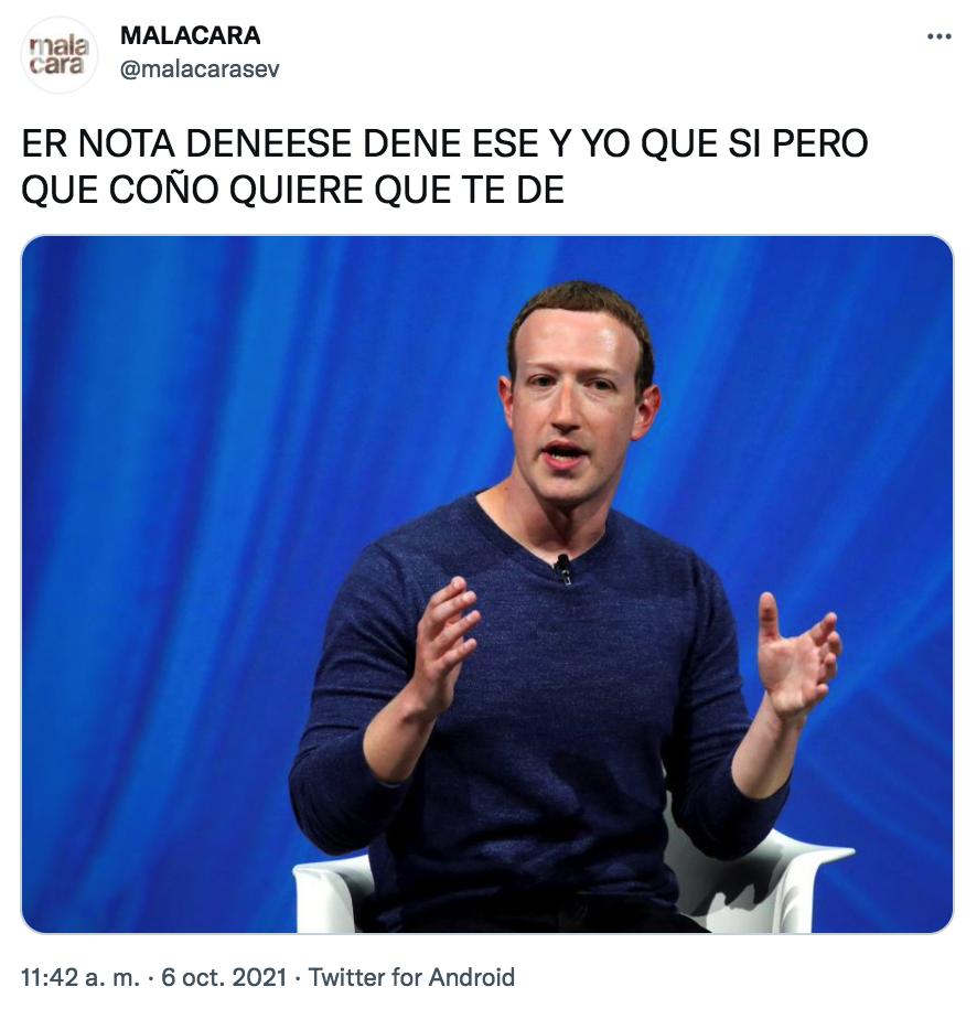 meme caida facebook